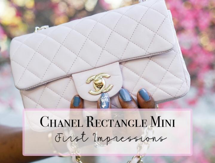 Chanel Rectangular Mini Flap FirstImpressions