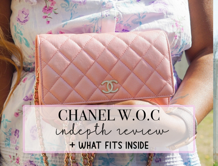Chanel WOC Review + What FitsInside