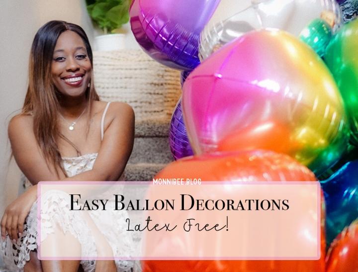 Easy Latex Free BalloonDecor!
