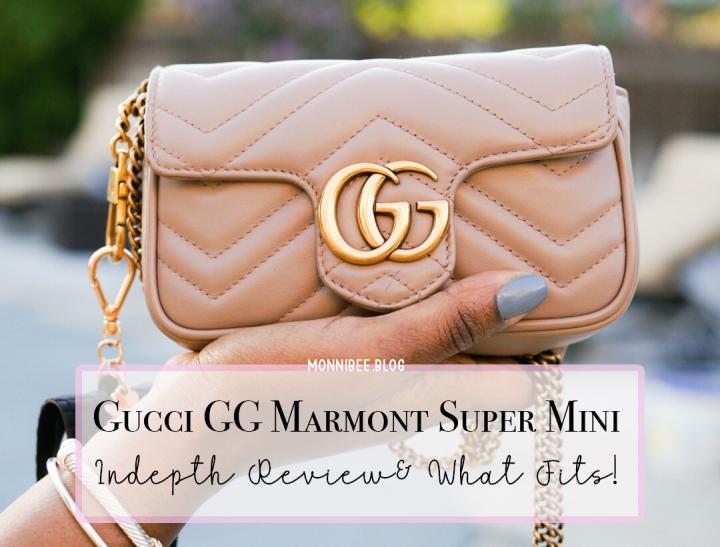 Gucci Marmont Super Mini Review+ What FitsInside