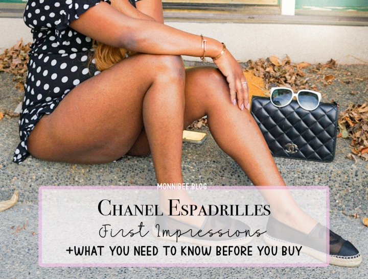 Cute in Jute–Chanel Espadrille First Impressions &Tips