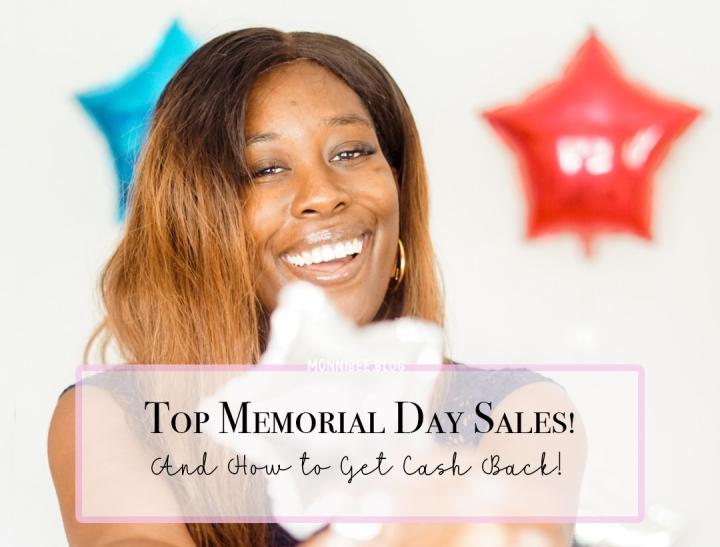 Top Memorial Days Sales + CashBack!