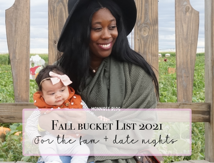 Fall Bucket List Must Do's2021